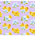 Elegant stylish spring floral seamless pattern
