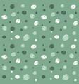scribble spots pattern vector image vector image