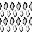Snake skin texture Seamless pattern black on vector image vector image