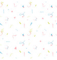 watercolor party stripes pattern vector image