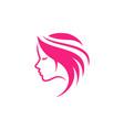 beauty logo icon design template salon logo design vector image