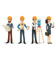 civil engineers vector image