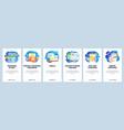 fitness tracker app sport training plan in mobile vector image vector image