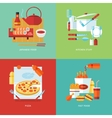 Food and kitchen concept vector image