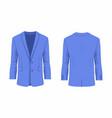mens purple business suit vector image vector image