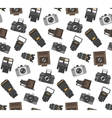 Photography gear seamless pattern vector image vector image