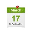 StPaticks Day vector image vector image