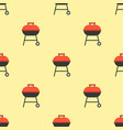 barbecue grill seamless pattern for use as vector image