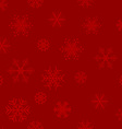 Beautiful snowflakes background vector image vector image