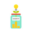 charity abstract box colorful vector image vector image