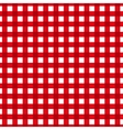 Checkered pattern Retro tablecloth texture vector image vector image