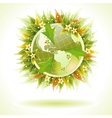 environmentally friendly earth vector image vector image