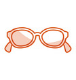 eye glasses modern style vector image vector image