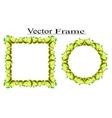 Lemon Frame vector image vector image