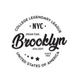 New york city brooklyn theme t-shirt graphics