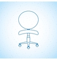 office chair design vector image vector image