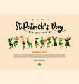 saint patrick s day vector image