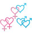 symbols of sexual orientation vector image