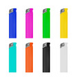 lighter lighter on white backg vector image
