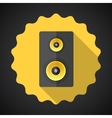 Music Speaker Sound System Flat Icon