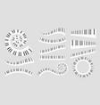 musical instrument keys vector image