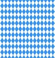 Oktoberfest blue rhombus background vector image