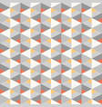 seamless geometric recurring triangle pattern vector image vector image