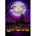 Spooky Halloween Night vector image