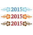 2015 aloha vector image vector image