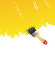 Brush vector image