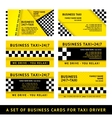 Business card taxi - tenth set vector | Price: 1 Credit (USD $1)
