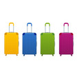 different colorful business and family vacation vector image vector image