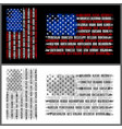 flag states america - new 4000 vector image vector image