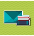 Flat about book design vector image vector image