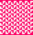 pink and white geometric pattern background vector image vector image