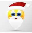 Sunta emoticon emoji smiley vector image vector image