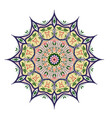 tribal mandala design set vintage decorative elem vector image