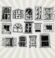 windows vector image vector image