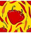 pepper heart seamless vector image