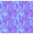 Abstract purple triangular seamless pattern vector image vector image