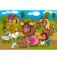 animals country group m vector image vector image
