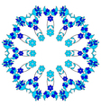 artistic ottoman pattern series fourty two vector image vector image