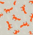 cartoon fun print cute seamless pattern with vector image vector image