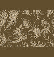 fabric texture seamless vector image vector image