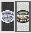 layouts for appliance store
