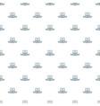 monitor social network pattern seamless vector image vector image
