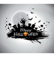 on a Halloween theme vector image vector image