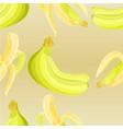 seamless texture three bananas vector image vector image