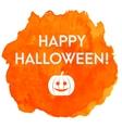 Artistic happy halloween banner vector image vector image