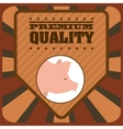 butcher products vector image vector image